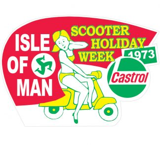 Isle of Man Rally Stickers