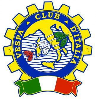 463 Vespa Club Ditalia Blue Sticker