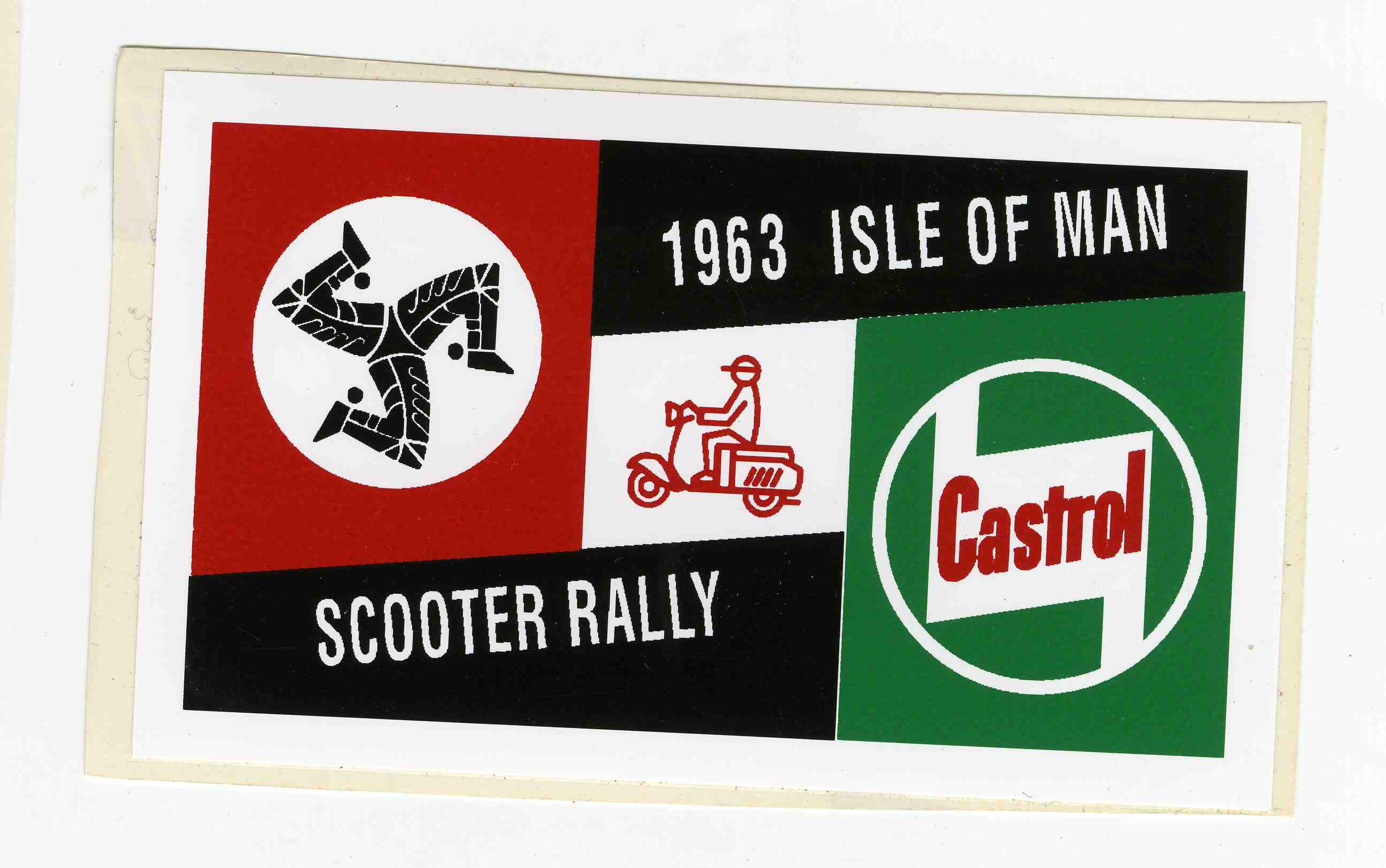 686 Isle Of Man 1963 Sticker