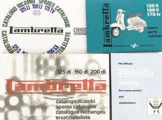 Lambretta Parts Book
