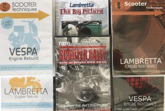 Lambretta & Vespa DVD's